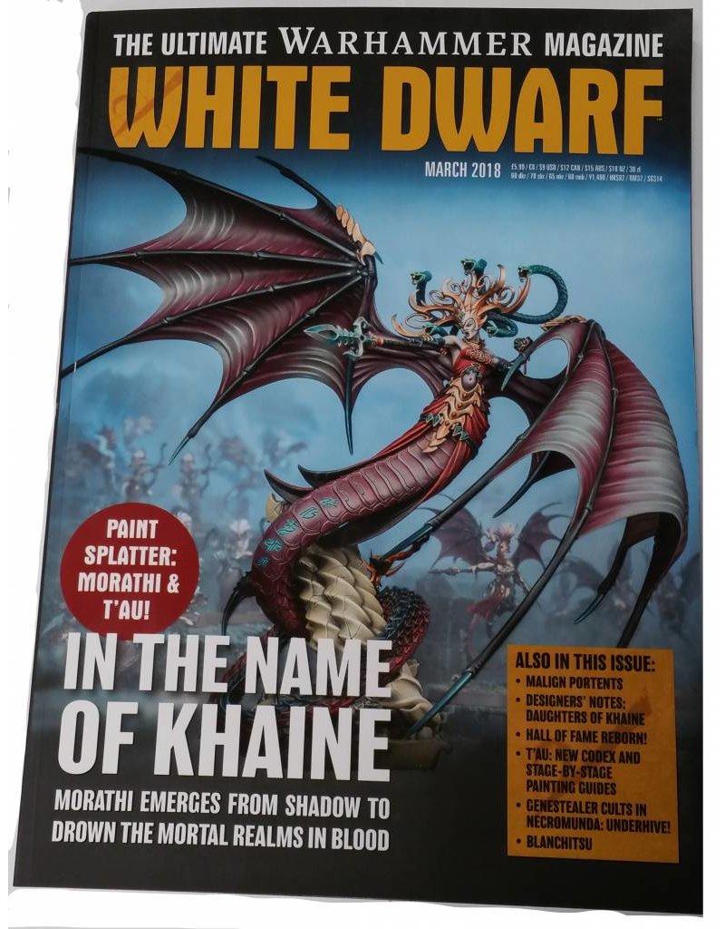 White Dwarf March 2018 (EN)