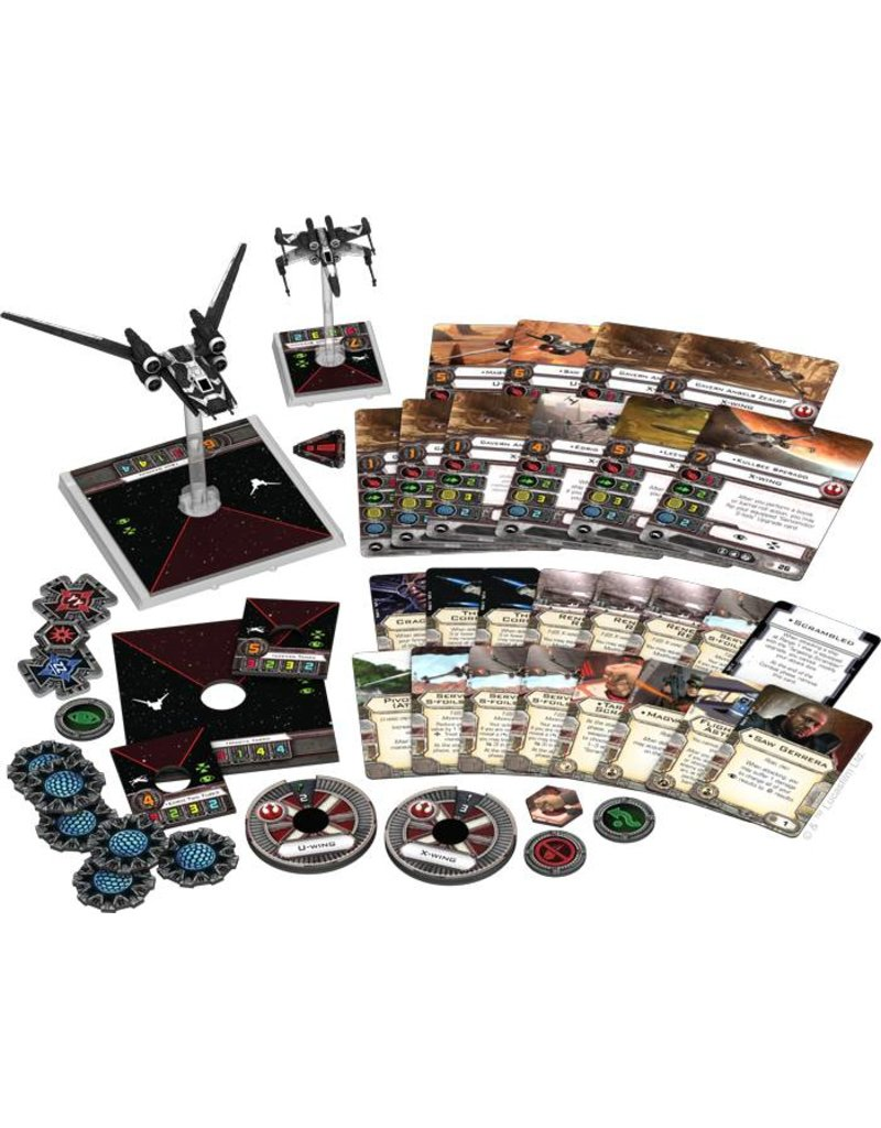 Fantasy Flight Games Star Wars X-Wing: Saw's Renegades Expansion Pack 1.0