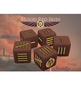 Warlord Games British Blood Red Skies Dice
