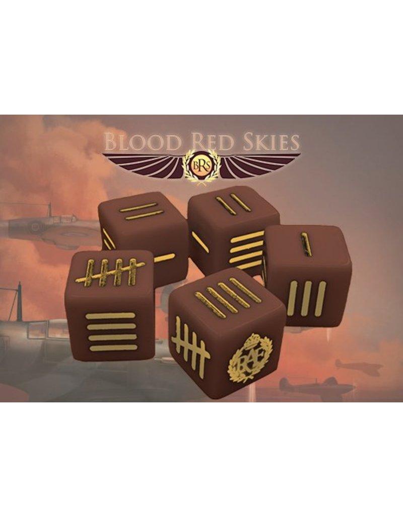 Warlord Games British Blood Red Skies Dice