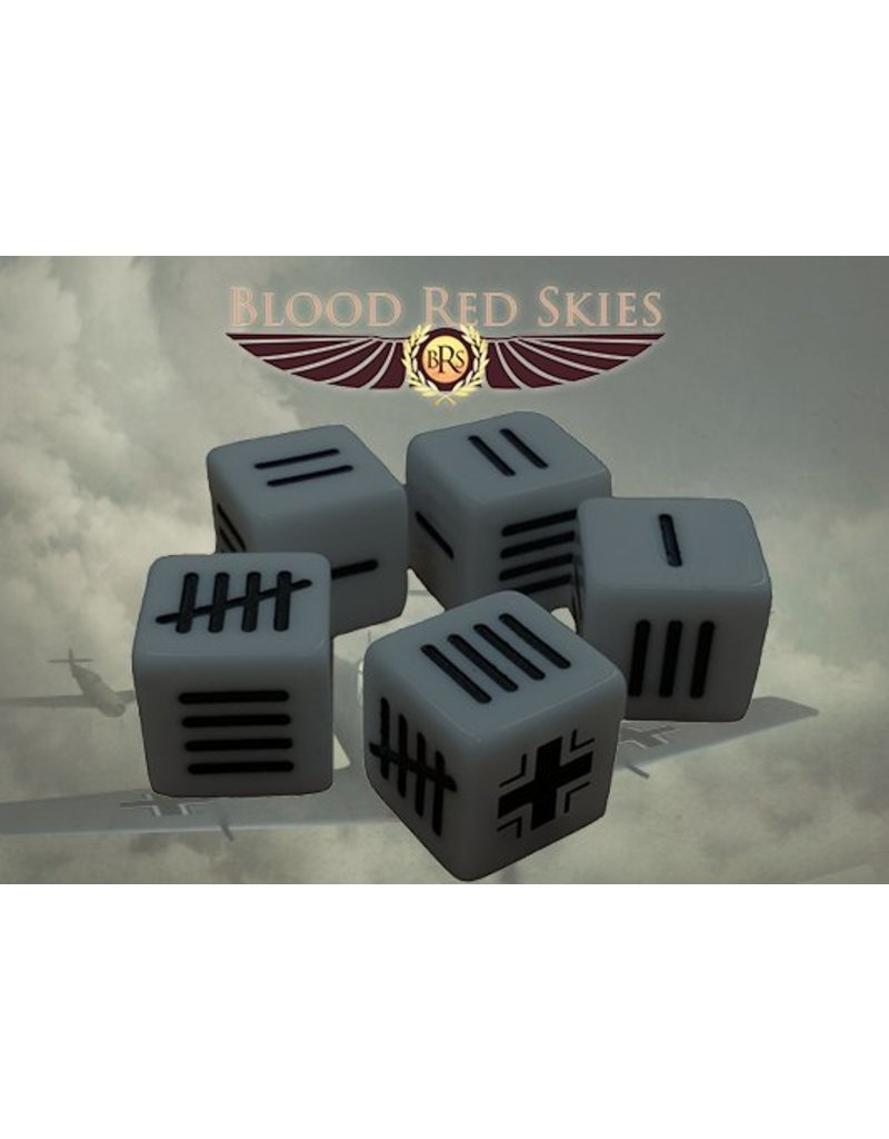 Warlord Games German Blood Red Skies Dice