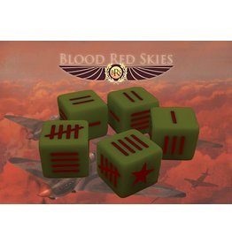 Warlord Games Soviet Blood Red Skies Dice