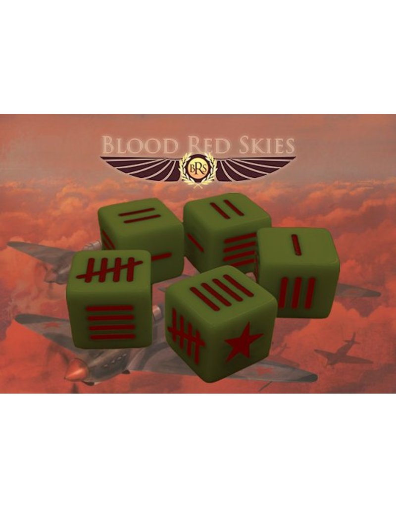 Warlord Games Soviet Blood Red Skies Dice