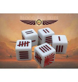 Warlord Games Japanese Blood Red Skies Dice