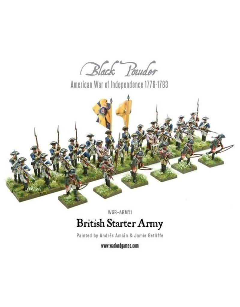 Warlord Games British Army Starter Set (American War Of Independence) Box Set