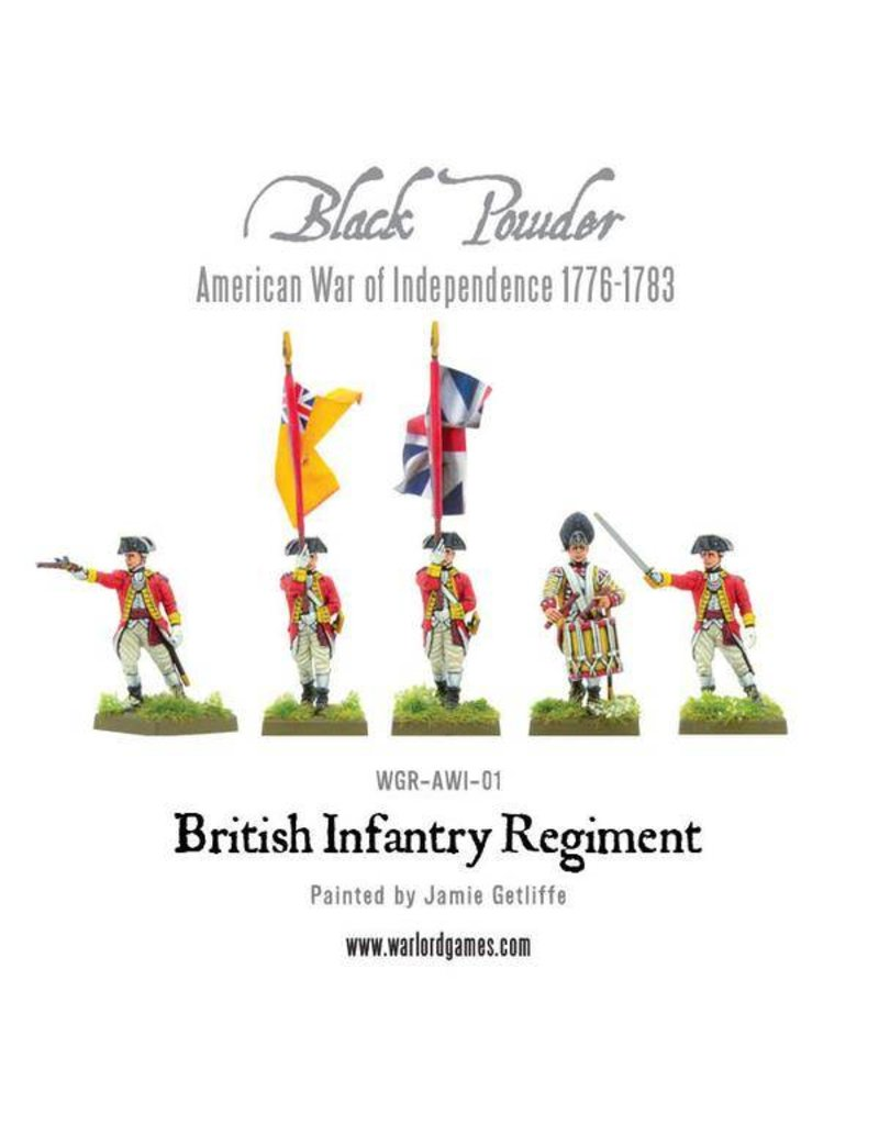 Warlord Games British Infantry Regiment (American War Of Independence) Box Set