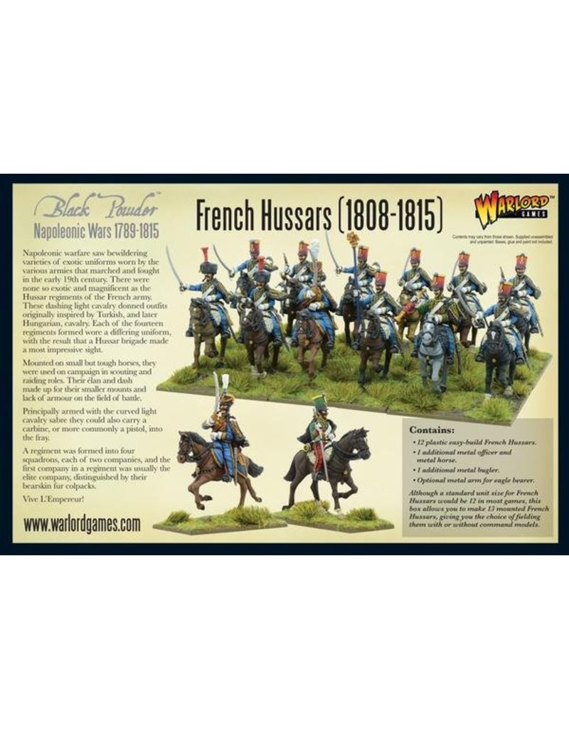Warlord Games Napoleonic Wars 1789-1815 French Hussars Box Set