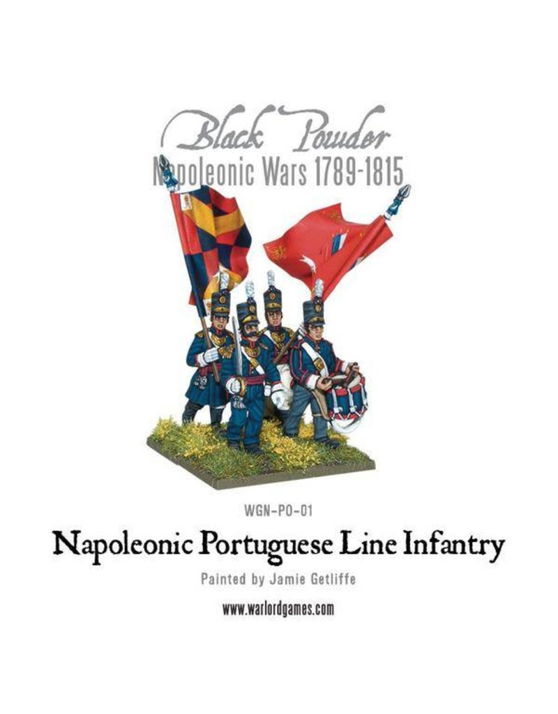 Warlord Games Napoleonic Wars 1789-1815 Portuguese Line Infantry Box Set