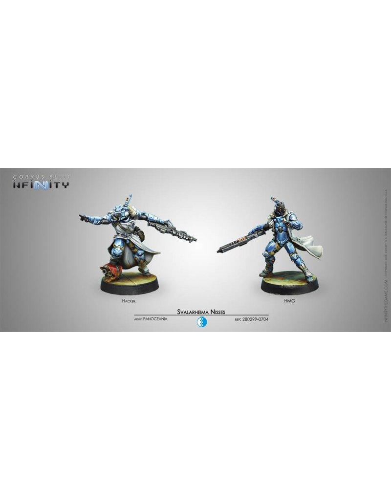 Corvus Belli Panoceania Svalarheima Nisses (Hacker and HMG) Blister Pack