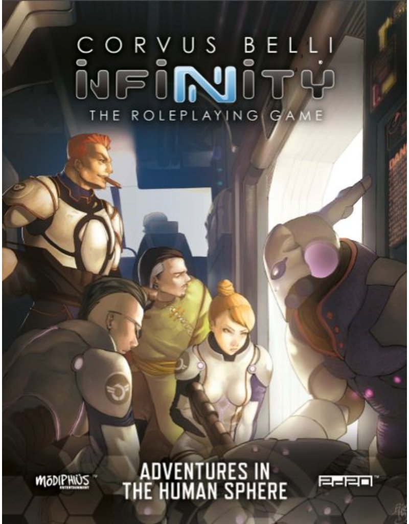 Modiphius Entertainment Infinity RPG: Adventures in the Human Sphere Book