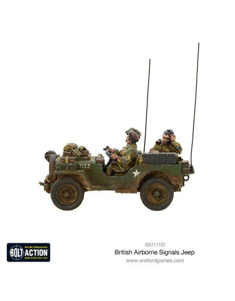 Warlord Games British Airborne Signals Jeep Box Set