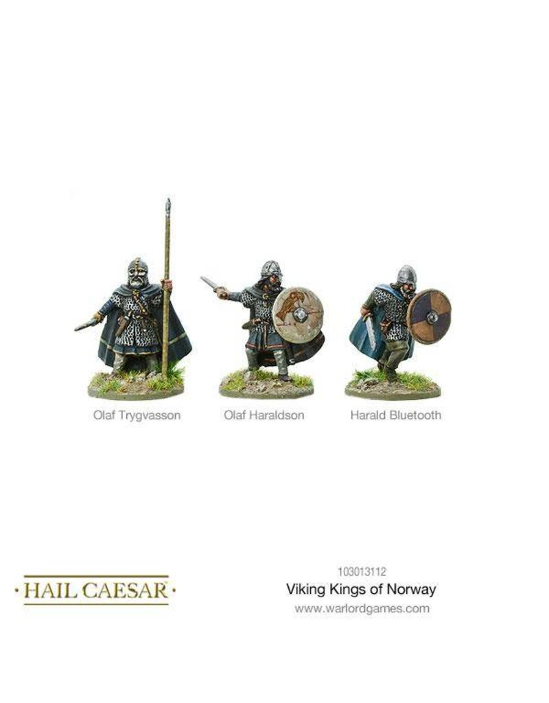 Warlord Games The Dark Ages Viking Kings of Norway Box Set