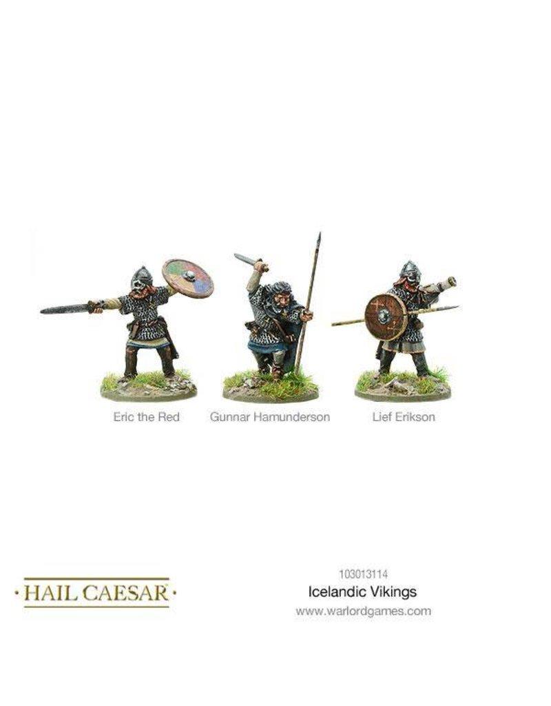 Warlord Games The Dark Ages Icelandic Vikings Box Set