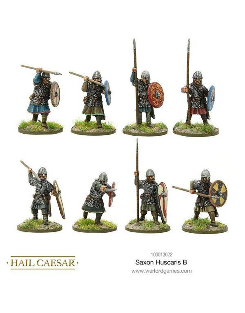 Warlord Games The Dark Ages Saxon Huscarls B Pack