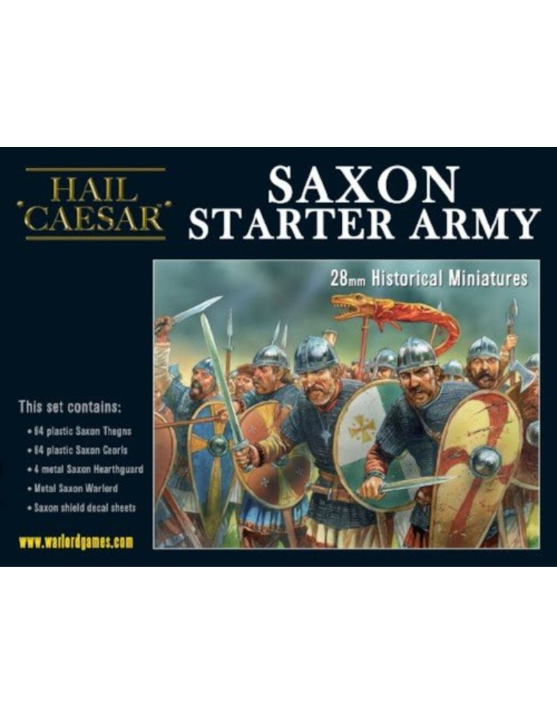 Warlord Games The Dark Ages Saxon Starter Army Box Set