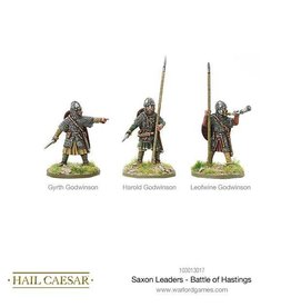 Warlord Games Saxon Leaders - Battle Of Hastings