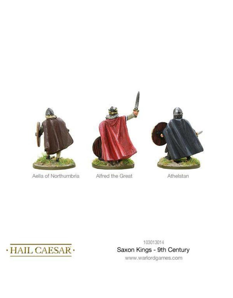 Warlord Games The Dark Ages Saxon Kings - 9th Century Pack