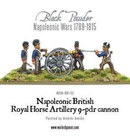 Warlord Games British Horse Artillery 9-Pdr Cannon