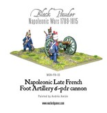 Warlord Games Napoleonic Wars 1789-1815 French 6 Pounder Foot Artillery Box Set