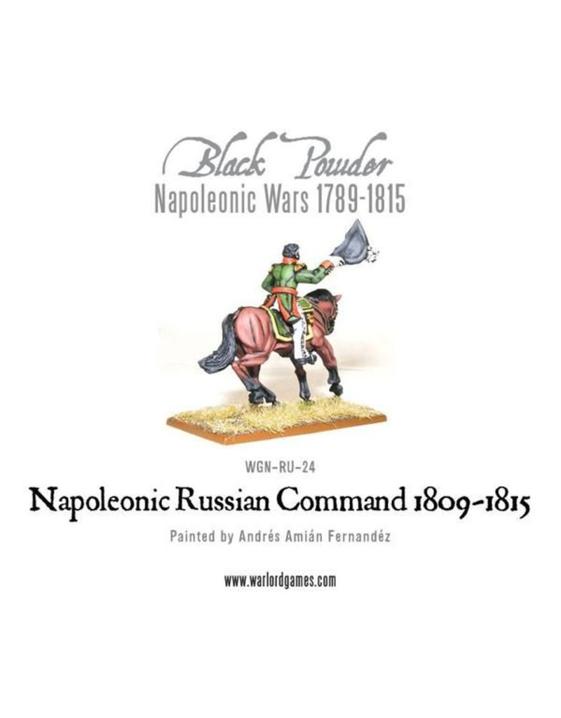 Warlord Games Napoleonic Wars 1789-1815 Russian Command (1809-1815) Pack