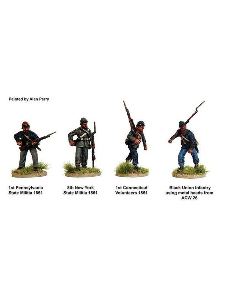 Perry Miniatures American Civil War 1861-1865 Union Infantry Box Set