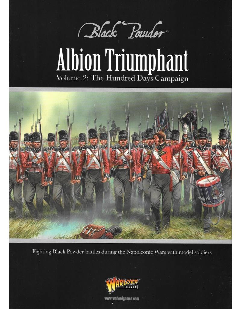 Warlord Games Albion Triumphant Pt2: Waterloo Supplement Book