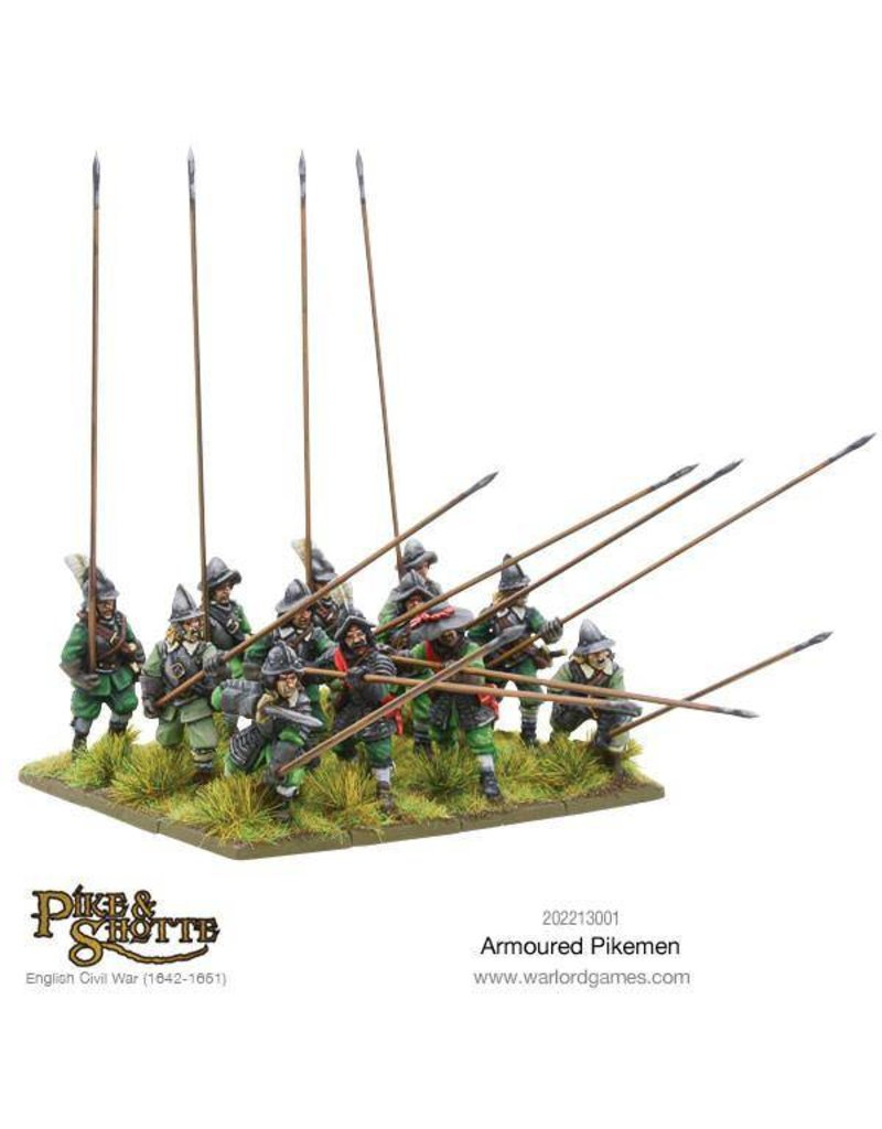 Warlord Games English Civil Wars 1642-1652 Armoured Pikemen Box Set