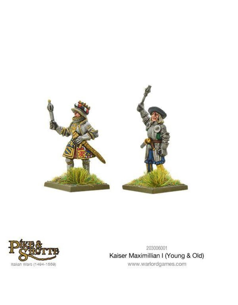 Warlord Games Italian Wars 1494-1559 Kaiser Maximilian I (Young & Old) Pack
