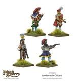 Warlord Games Italian Wars 1494-1559 Landsknechts Officers Pack