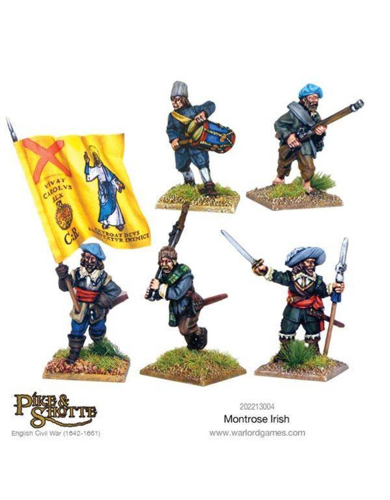 Warlord Games English Civil Wars 1642-1652 Montrose Irish Box Set