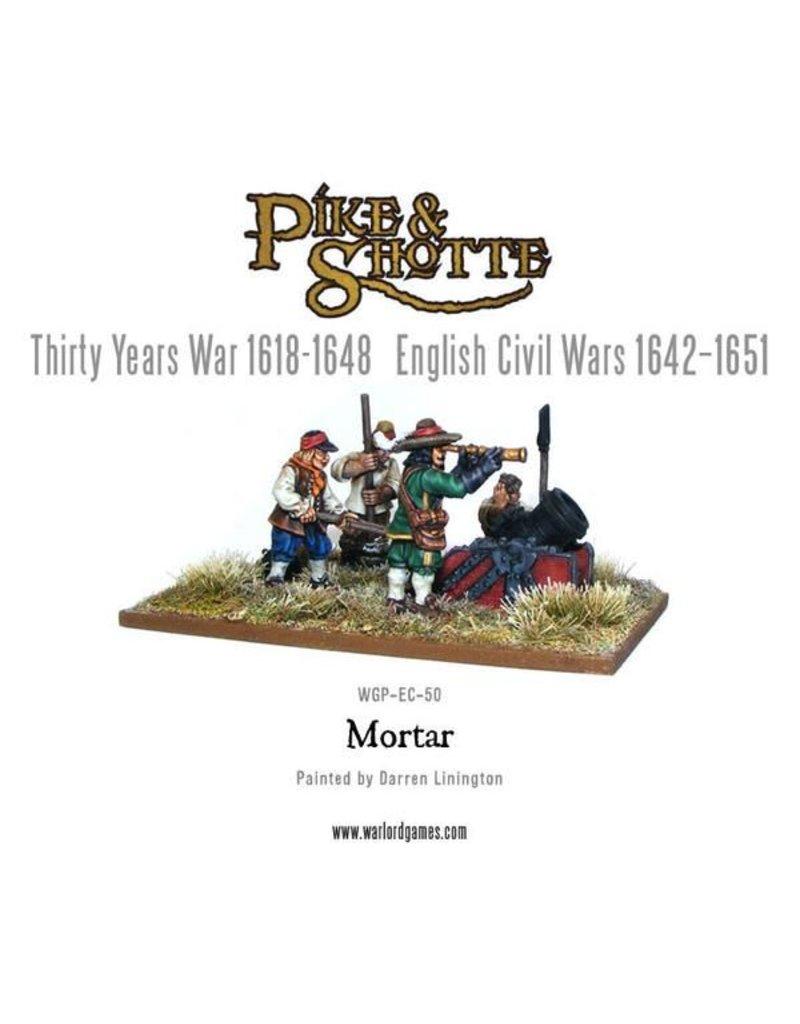 Warlord Games 30 Years War 1618-1648 Mortar & Crew Pack