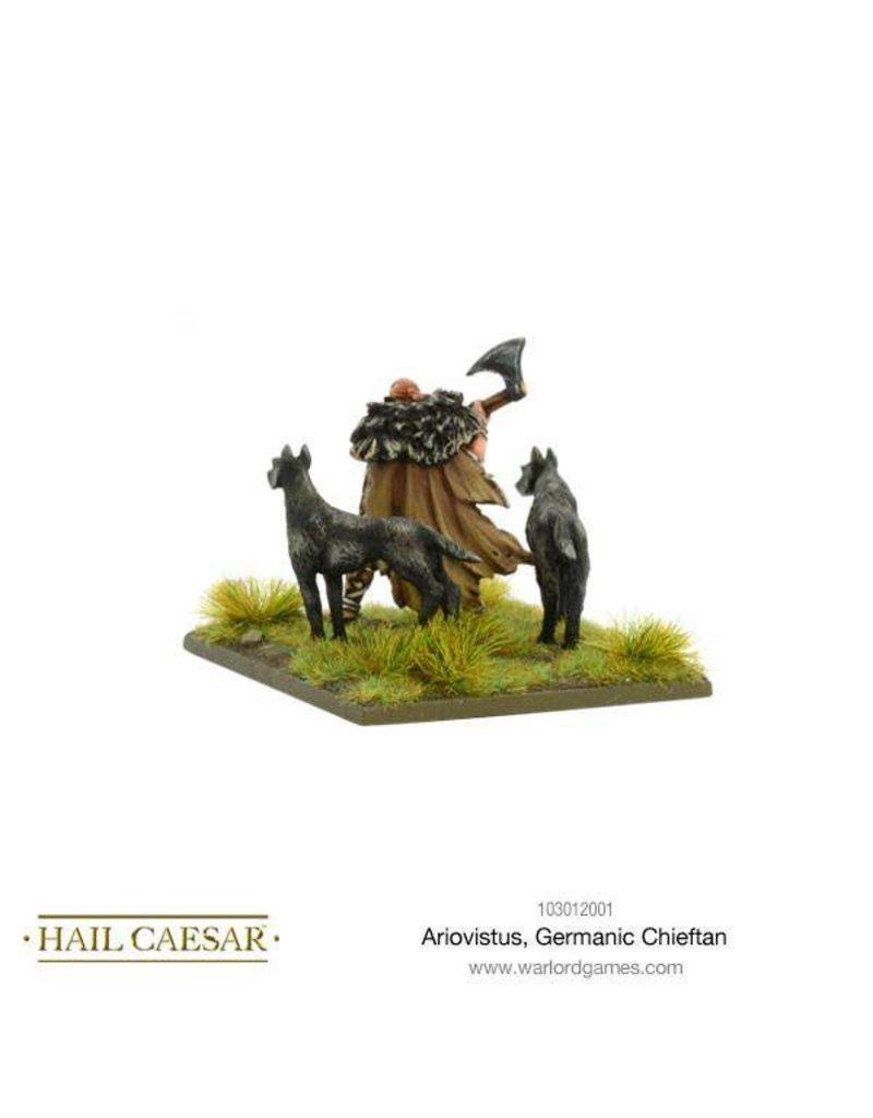 Warlord Games Enemies Of Rome Ariovistus Army, Germanic Chieftan Pack