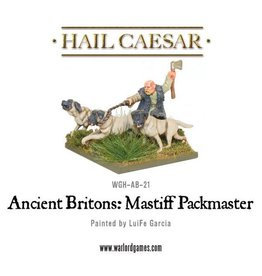 Warlord Games Ancient Celt Mastiff Pack