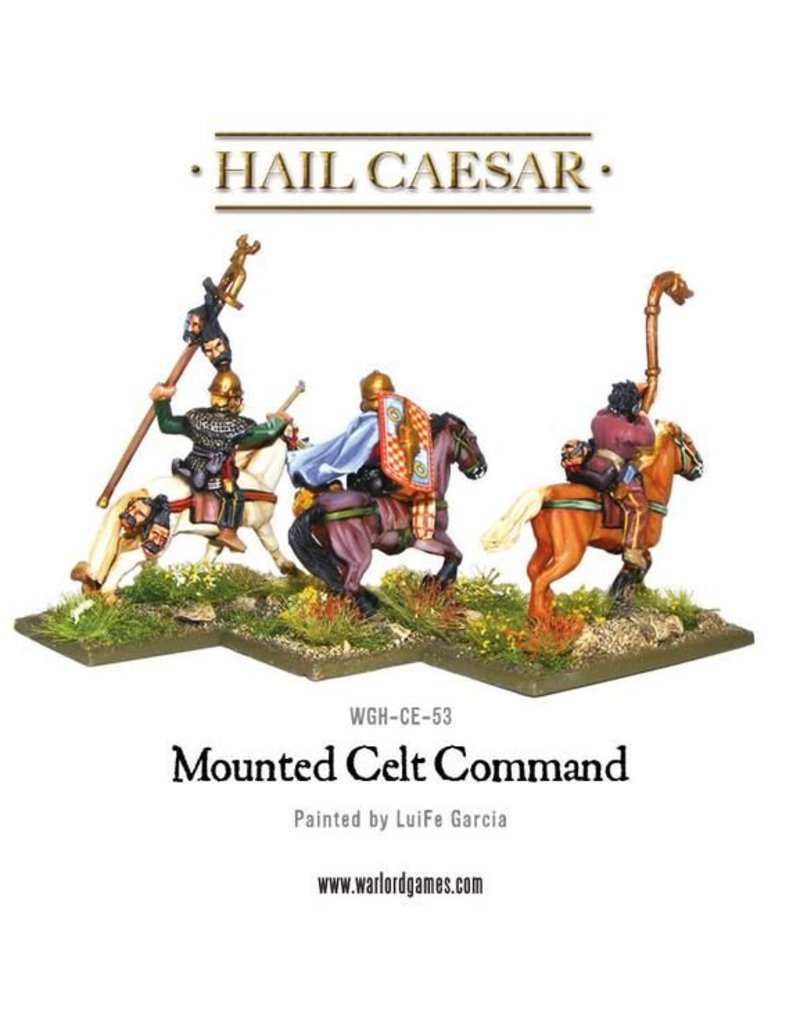 Warlord Games Enemies Of Rome Mounted Celt Command Pack