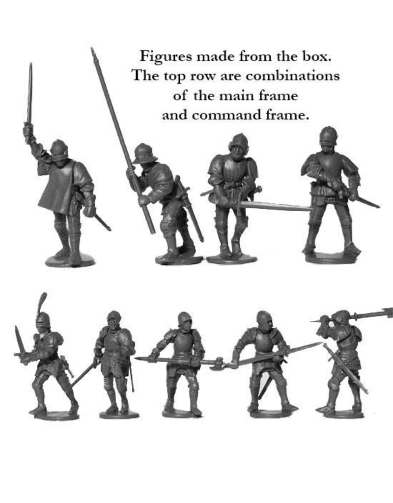 Perry Miniatures Foot Knights 1450-1500 Box Set