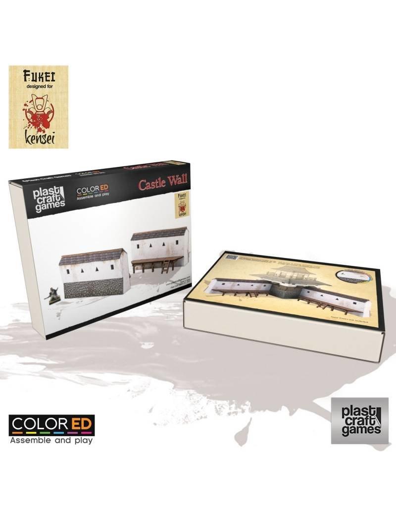 Plastcraft Plastcraft ColorED Castle Wall Set