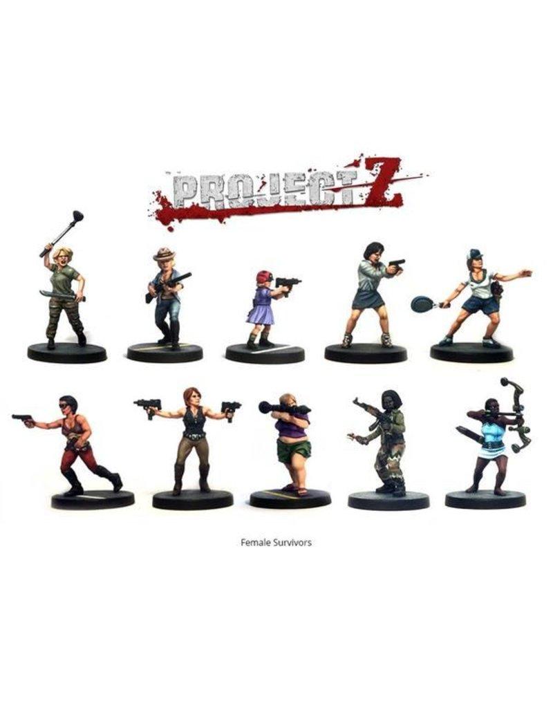 Warlord Games Female Survivors Box Set
