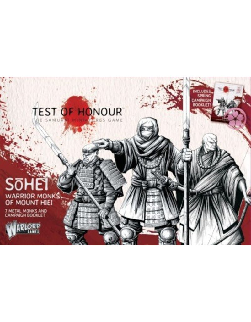 Warlord Games Sōhei Warrior Monks of Mount Hiei Box Set