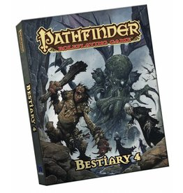 Paizo Pathfinder RPG Bestiary 4 Pocket Edition