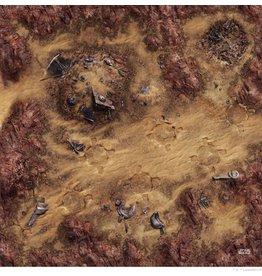 Fantasy Flight Games Desert Junkyard Gamemat