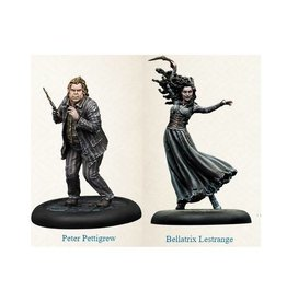 Knight Bellatrix & Peter Pettigrew
