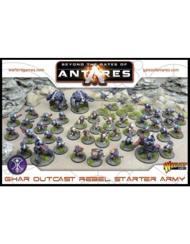 Warlord Games Gates Of Antares Ghar Outcast Rebel Starter Army Box Set