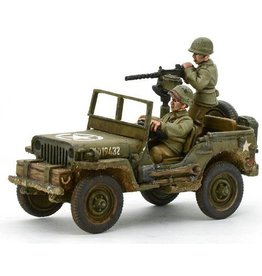 Warlord Games US Jeep with 30 Cal MMG