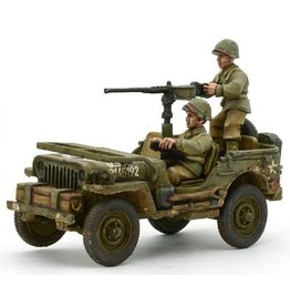 Warlord Games US Jeep with 50 Cal HMG