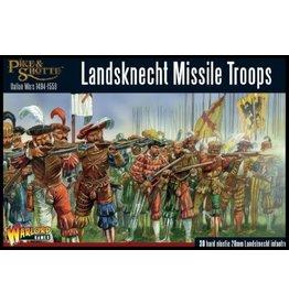 Warlord Games Landsknecht Missile Troops