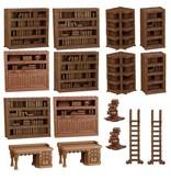 Mantic Games Terrain Crate: Library Plastic Scenery Box Set