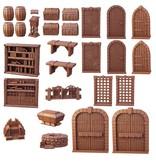 Mantic Games Terrain Crate: Dungeon Essentials Plastic Scenery Box Set