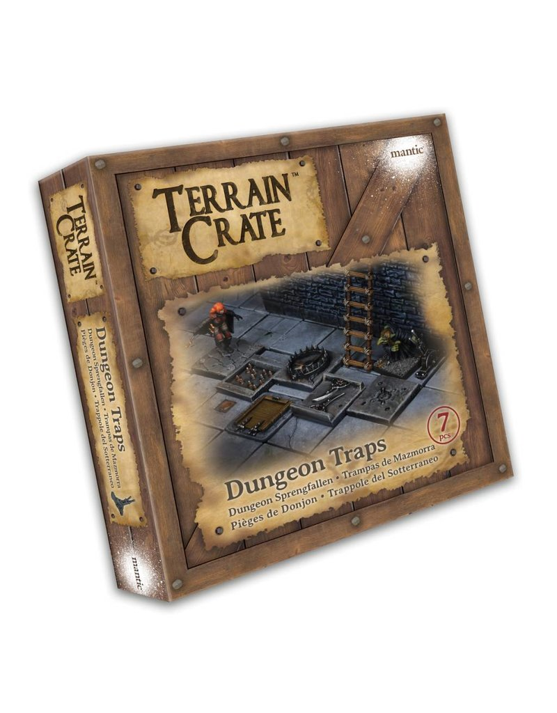 Mantic Games Terrain Crate: Dungeon Traps Plastic Scenery Box Set