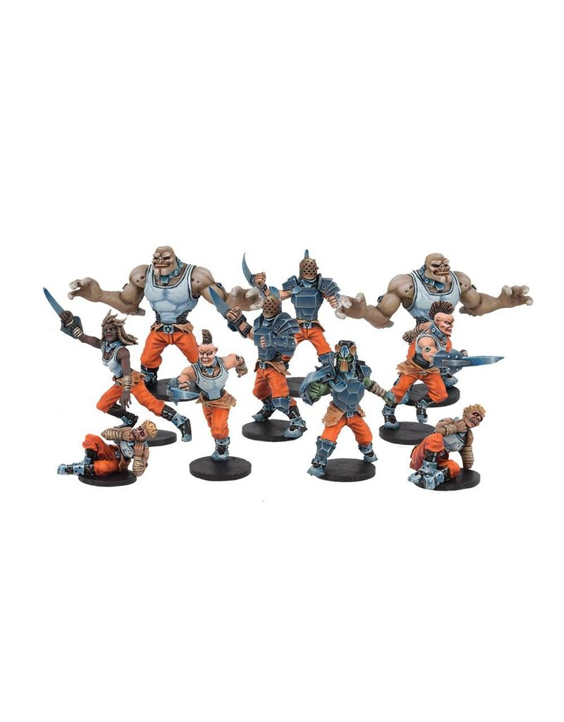 Mantic Games Convict Team: Long Rock Lifers Dreadball 2nd Edition Plastic Boxed Set