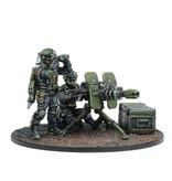 Mantic Games Warpath / Deadzone: GCPS Anti-Infantry Weapons Teams Box Set